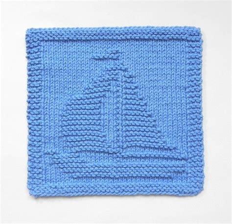 free knitting dishcloth patterns sailboat knit dishcloth wash cloth by susan craftsy
