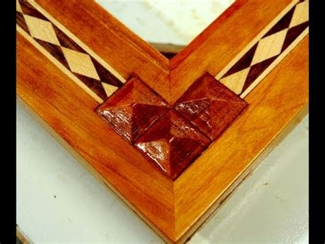 how to do woodwork woodworking how to inlay wood pyramids