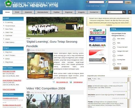 Membuat Web Sekolah Dengan Xp | download script website gratis i sript website toko online