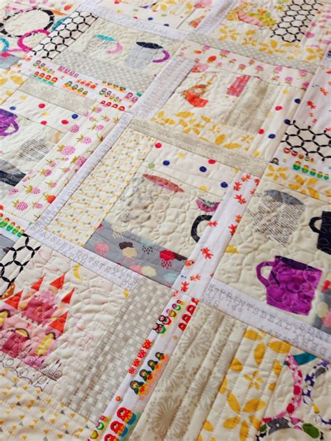 Log Cabin Patchwork Technique - quilt as you go log cabin quilting in the