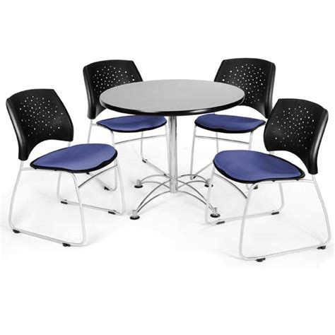 ofm package set breakroom table and 325 chairs