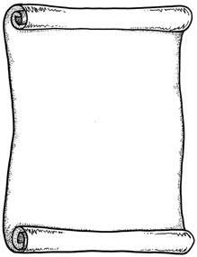 certificate scroll clip art 22