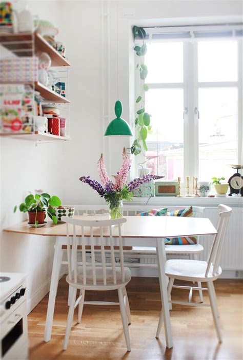 Dining Table In Kitchen Ideas by 10 Stylish Table Eat In Small Kitchen Ideas Decoholic