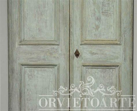 porte interne shabby chic orvieto arte porta in stile shabby chic