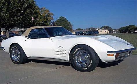 corvette auction preview mecum kansas city corvette
