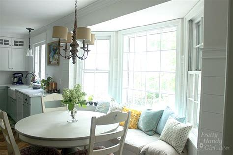 kitchen bay window seating ideas building a window seat with storage in a bay window
