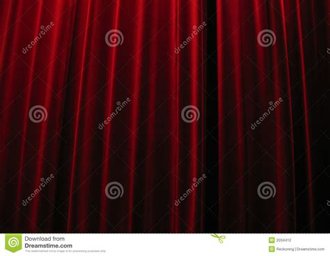 red velvet theater curtains red velvet theatre curtains stock photography image 2034412