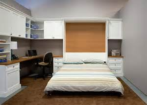 Guest Room Ideas Murphy Bed Combination Home Office Guest Room With Pull Wall