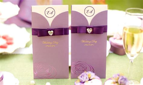 Wedding Invitation Card Printing Penang by Wedding Card Malaysia By Purplecollection Modern