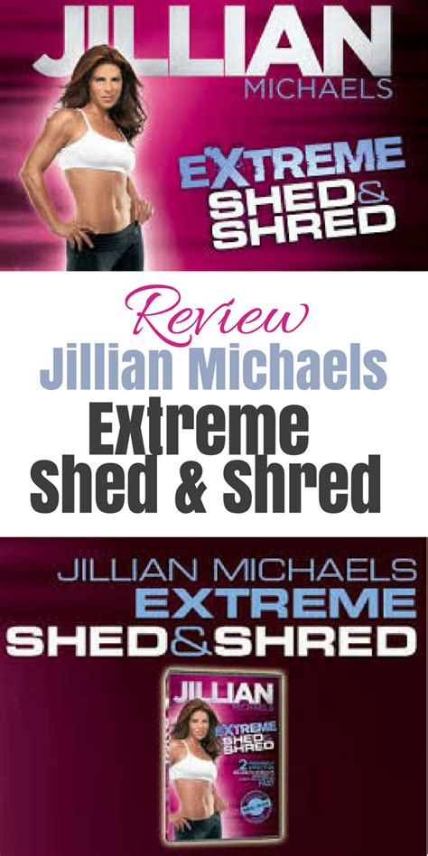Shed And Shred by Fitviews Review Jillian Shed Shred