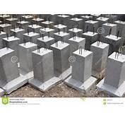 Concrete Foundation Royalty Free Stock Photography Image 19853117