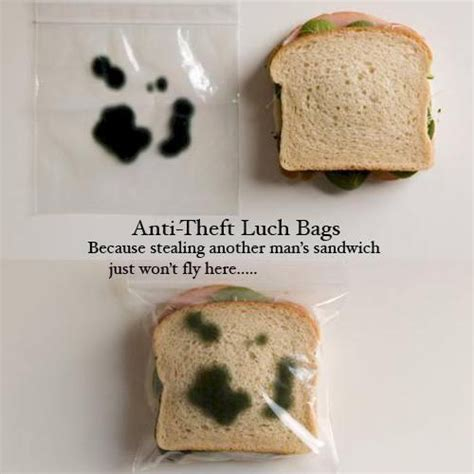anti theft lunch bags pic