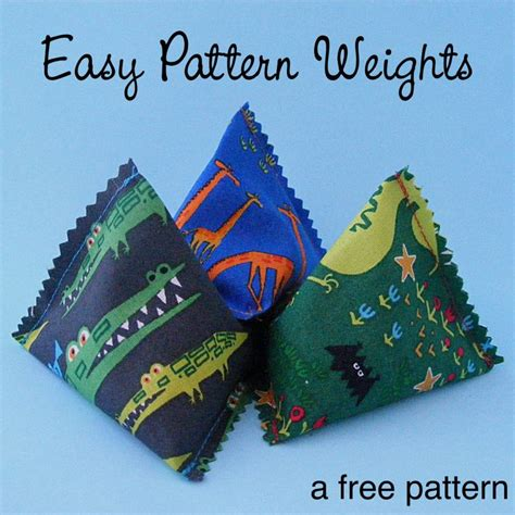 pattern and cloth weights 1595 best small sewing projects images on pinterest