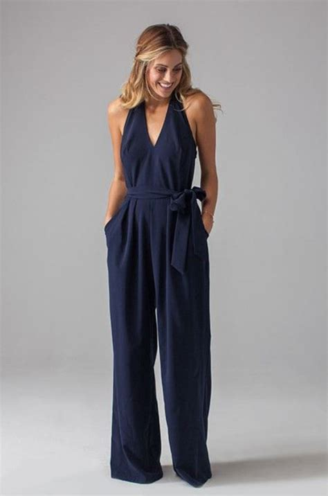 25 Best Ideas About Jumpsuit For Wedding Guest The Wedding Trend 25 Stylish Bridesmaids Jumpsuits