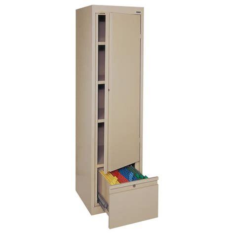 Single Door Storage Cabinet Sandusky Single Door Storage Cabinet 17 Quot X 18 Quot X 64 Quot Hadf171864 Storage Cabinets