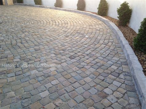 Cobblestone Patio Pavers Comparing Antique Granite To Antique Sandstone Cobblestone Antique Reclaimed Granite