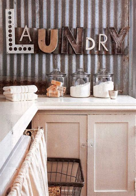 10 Most Awesome Laundry Room With Rustic Touches Rustic Laundry Room Decor