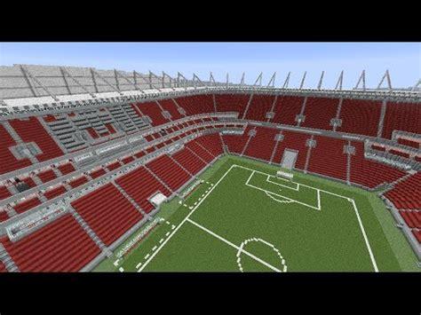 minecraft megabuild arena pernambuco world cup