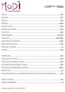 listino prezzi parrucchiere roma