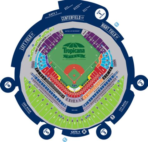 where is my seat tropicana field seating chart where s my seat flickr
