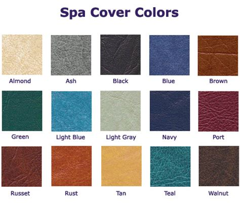 spa color san jose spa cover colors offered spas