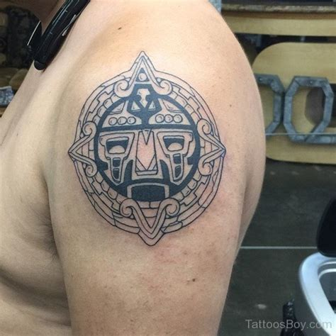tattoo round shoulder aztec tattoos tattoo designs tattoo pictures page 7