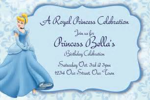 cinderella invitations template best template collection
