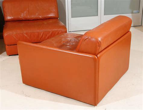Modular Sleeper Sofa Modular Leather Sleeper Sofa By De Sede At 1stdibs