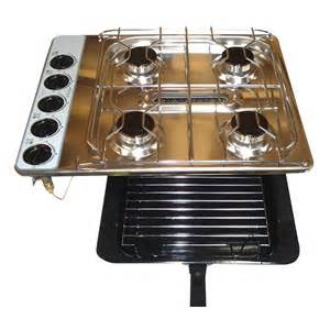 Cooktop Grill Spinflo Gas Cooktop Hob 8 Series 4 Burner Grill S Steel