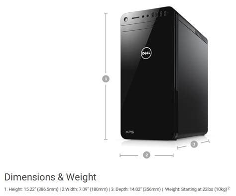 Pc Dell Xps 8920 I7 7700 8gb 2tb 32gb Ssd Gtx 4gb 24inch Windows10 specification sheet xps8920 i77700 16512gb w10pro dell xps 8920 dt desktop tower black computer