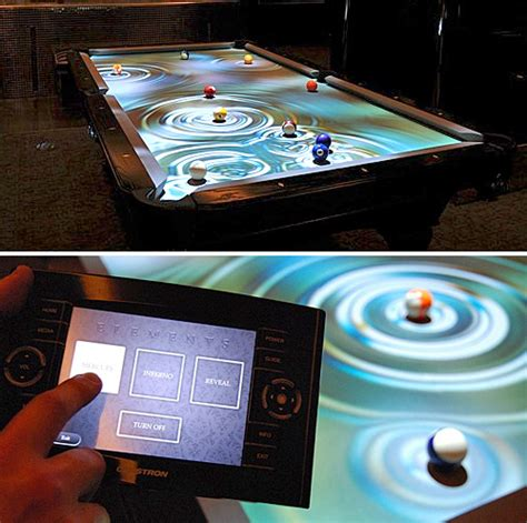 interactive pool table price cuelight interactive pool table system ohgizmo
