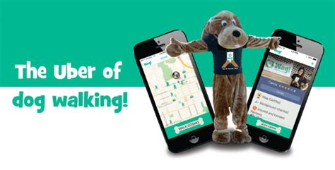 wag walking app wag app matching owners with walkers wagging world