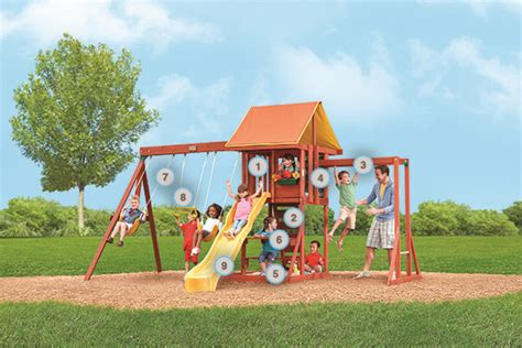 cedarbrook swing set 17 best images about backyard playsets on pinterest cove