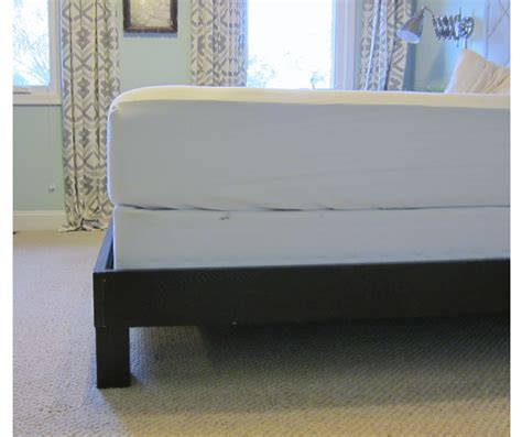 platform bed with box spring how to convert a platform bed for a box spring little
