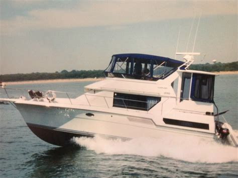 sides of a boat aft carver boats 370 aft cabin boat for sale from usa
