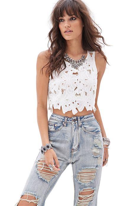 Blusas Cortas De Chicas | moda blusas 187 blusas cortas de moda juveniles 2