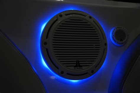 Led Light Speakers by Goods Empire Hydrosports Led Speaker Rings