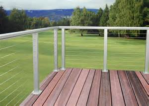 Wire Handrail Systems As Amp D Aluminum Railing Cable Rail System