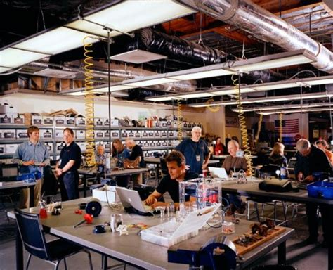 Tech Shop In The Next Industrial Revolution Atoms Are The New Bits