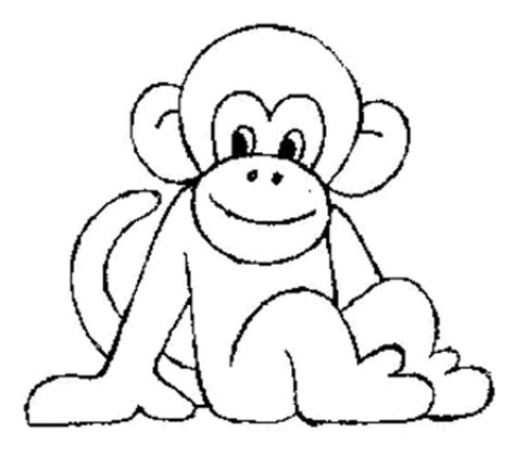 monkey head coloring page print download coloring monkey head with monkey