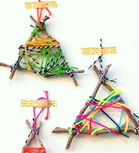 ornament crafts for twig string ornament crafts for