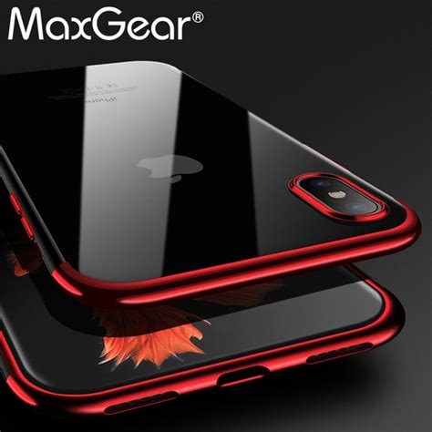 for iphone xs max xr silicone cover original for iphone x 6 6s 7 8 plus luxury silm