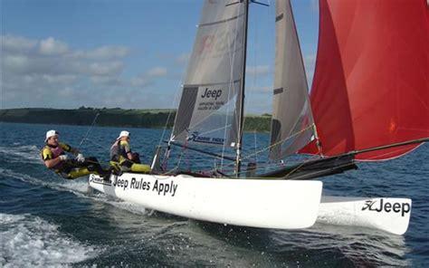 catamaran hire cornwall catamaran sailing experience adventure activities cornwall