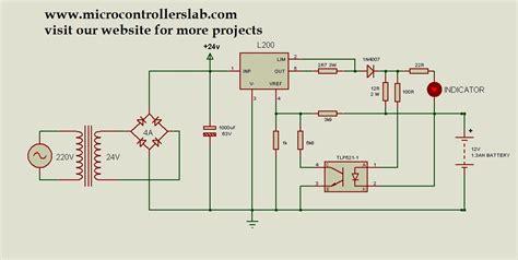 12 volt battery charger circuit diagram 12 volt 1 3ah battery charger circuit diagram