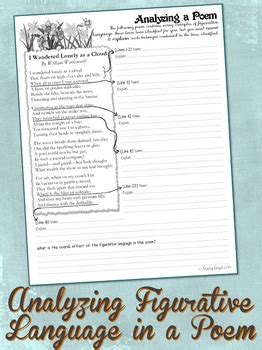 a closer look at minimus poem worksheet answers 3 free figurative language worksheets by stacey lloyd tpt
