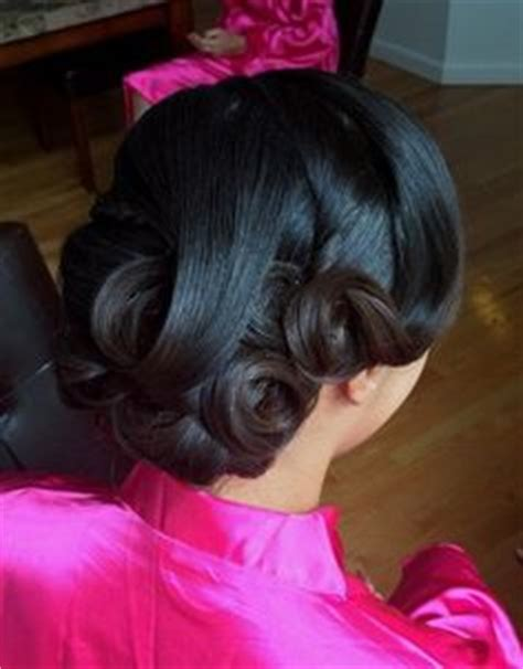 American Wedding Hairstyles And Hairdos by Bridal Hair Style Vintage Updo Clean Updo