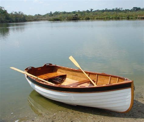row boat new puffin tender rowing configuration woodworking