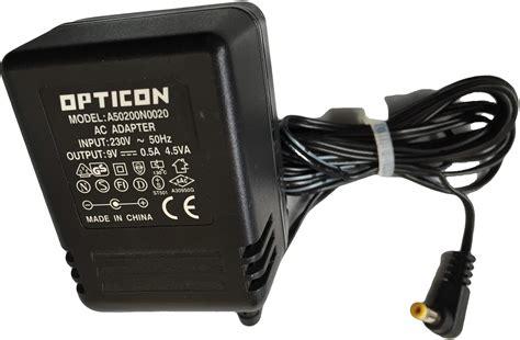 alimentatore elettronica alimentatore di corrente opticon a50200n0020 ac adapter 9v