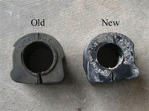 Bushing Silent T lubricating and or replacing sway bar bushings