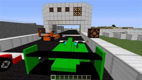 minecraft race car minecraft f1 race on bukkit server youtube